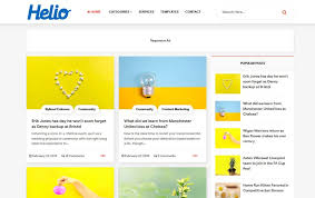 Style Templates 40 Latest Free Grid Style Blogger Templates 2019 Css Author