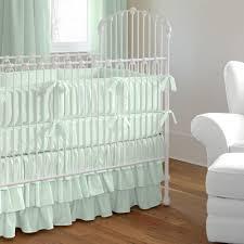 solid orange crib bedding solid icy mint crib bedding