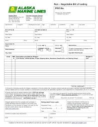 Short Form Bill Of Lading Template Bill Of Lading Template New Free Bill Lading Form Luxury