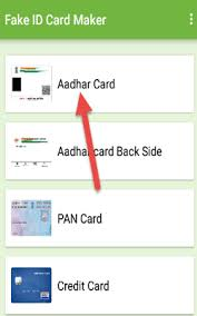 Resultater Aadhar A Fake To Ca Card 30 How Make