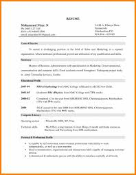 Marketing Objectives For Resume Transform Job Objectiveal An Of