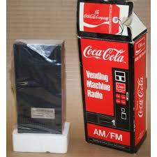 Coca Cola Vending Machine Radio Awesome CocaCola Vending Machine Radio Dated 48