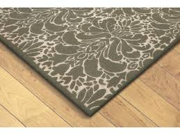 trans ocean rugs seville modern damask 2 3 x 8 rectangular silver runner rug