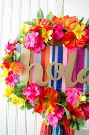 summer fiesta wreath
