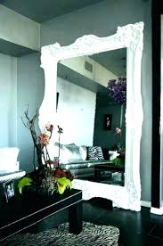 luxury big wall mirror dining room decor large living for full length decorative inspiring