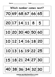 The 25+ best Number patterns worksheets ideas on Pinterest ...
