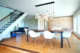 Modern Dining Room Pendant Lighting Custom Pendant Lights Dining Room Hanging Drop Lighting What To Think About