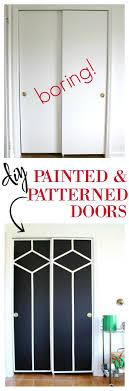 sliding closet doors makeover painted closet door ideas painted doors ideas interior door