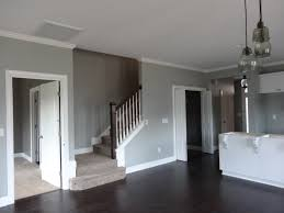 Gray Walls White Trim Dark Floors By Manda COLORDESIGN - Gray dining room paint colors