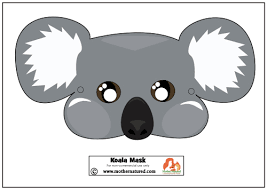 Colorful masks with various attractive embellishments have always been a subject of fascination for children and adults alike. Free Printable Koala Mask For Kids Mother Natured