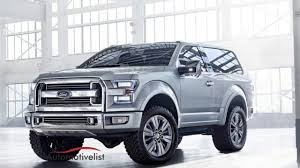 2020 Ford Bronco Price And Specs  E