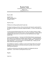 Sports Administration Cover Letter Samples Perfect Resume Format