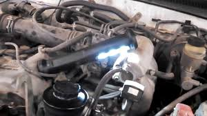 Blowing smoke Toyota Tacoma 1999 losing power steering fluid see ...