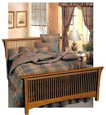 Mission Style Bed Plans Mission Style Bed Plans Craftsman Style Bed ...