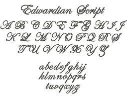 шрифты для тату женские Letterdrum