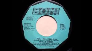 Phyllis Rhodes - I Feel, I Feel, I Feel - YouTube