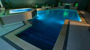 pool waterfall lighting. Luxury Swimming Pool With Neon Lighting Water Feature Waterfalls Waterfall D