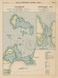 Neponset Reservoir Depth Chart Cuttyhunk And Robinsons Hole Ma Colored Nautical Chart