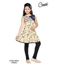 Ladies Dress Design Patterns Letest Pattern Printed Design Kurtis For Girls Buy New Pattern Girls Kurtis 3 4 Sleeves Pattern Girls Dress Set New Style Girls Dress Set Product On