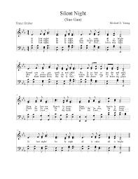 sheet music silent night silent night 73 free arrangements