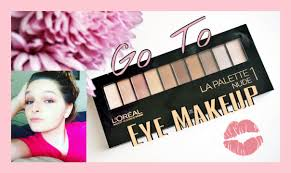 every day eye makeup tutorial loreal s palette real techniques eco tools destyni make up lova