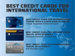 Best credit card for international use. Best Credit Cards For International Travel Expensivity