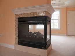 three sided gas fireplace model edvpf by lennox hearth s visit showroom partners to