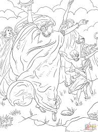 Small Picture Miriam Dancing coloring page Free Printable Coloring Pages