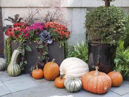 An Easy Way To Decorate For Fall Is With Attractive Container Container Garden Ideas For Fall