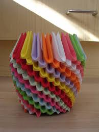 Flower Vase With Paper Origami Easy D Origami Flower Vase Ot Paper Vase Sleeve Paper