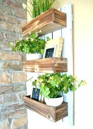 indoor wall garden. Hanging Wall Garden Indoor Planter Wooden Simple And Easy Project A