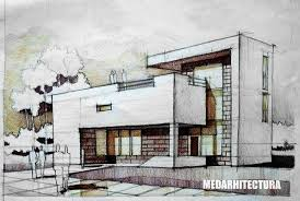 modern architecture blueprints. Ideas Architectural Drawings Of Modern Houses Modernist House Two White Concrete Pieces Are Held Together By A Architecture Blueprints
