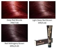Shades Of Red Hair Color Chart Shades Of Red Hair Color Chart Eyeswideopen