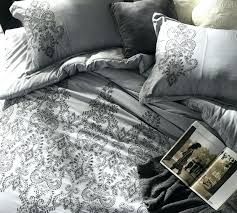 oversized king duvet cover baroque stitch alloy pewter embroidery 116 x 98 duv oversized king duvet cover