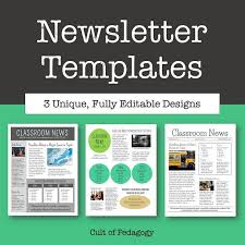 Newsletter Free Templates Why No One Reads Your Classroom Newsletter Best Teacher Tips And