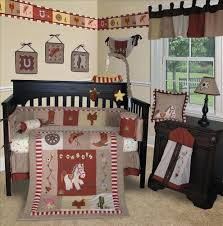decoration horse nursery bedding baby crib horse nursery bedding
