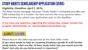 one essay on study habits words or less scholarships 500 one essay on study habits 1000 words or less