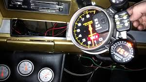 autometer pro comp 2 playback memory tach youtube endear wiring tachometer wiring diagrams at Autometer Sport Comp Wiring Diagram