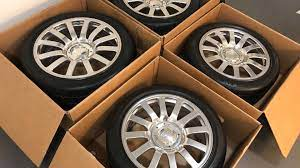 The development of the bugatti veyron was one of the greatest technological challenges ever known in the automotive industry. Bugatti Veyron Wheel And Tire Set Yours For Just 100 000