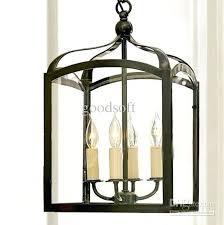 birdcage pendant light chandelier copper