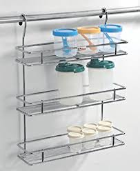 Kitchen hanging rack Storage Buy Lifetime Wire Products Stainless Steel Hanging Spice Rack Silver Online At Low Prices In India Amazonin Amazonin Buy Lifetime Wire Products Stainless Steel Hanging Spice Rack