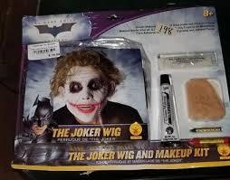 the joker deluxe wig and makeup kit the dark knight heath ledger batman
