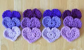 Heart Crochet Pattern Beauteous The Easiest Heart Crochet Pattern Ever