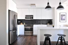 Small Picture White Kitchen Design 2017 With Laminated Oak Throughout Ideas