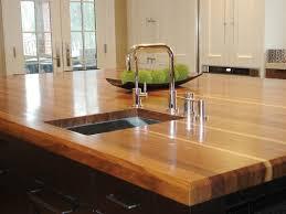 Wooden Kitchen Countertops Wood Kitchen Countertops For Elegance