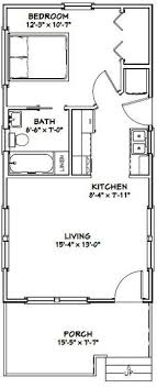 Small Picture 18x30 Tiny House 18X30H7I 999 sq ft Excellent Floor Plans