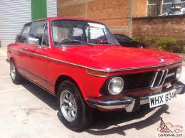Coupe Series 2002 bmw for sale : 2002 TII 1974 M REG MOT SQUARE LIGHT MODEL RED