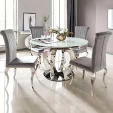 round dinner table for 6 white glass chrome round dining table 6 dining chairs dining table 6 chairs dining table set 6 seater low