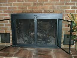 l shaped fireplace screen s fan shaped fireplace screen