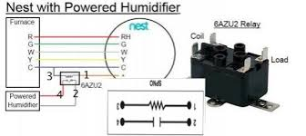 nest 2 0 & aprilaire 800 humidifier White Rodgers Relay Wiring Diagram White Rodgers 1311 102 Wiring-Diagram